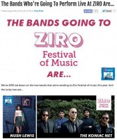 the Koniac Net @ ZIRO Music Festival