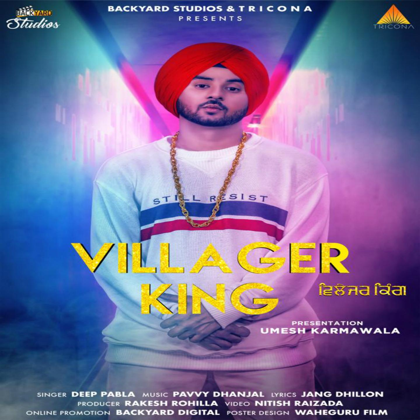 Villager King by Deep Pabla